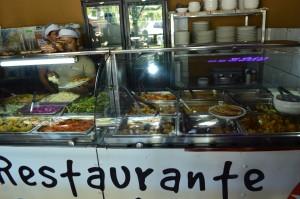 A cafeteria-like assortment of goodness.