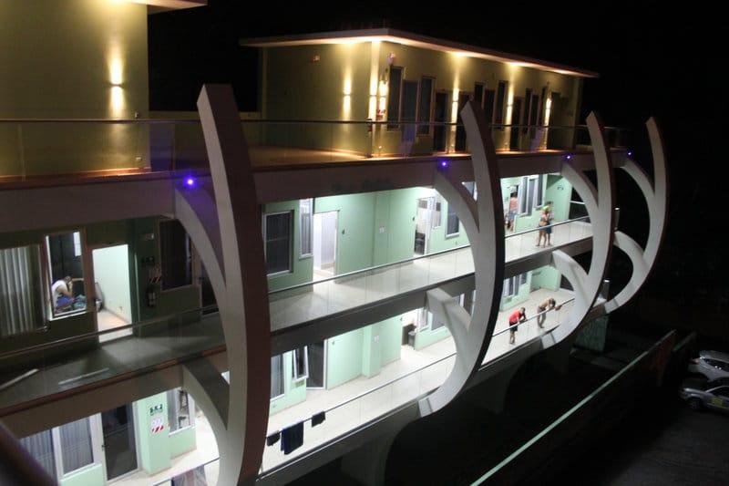 Room2Board at night