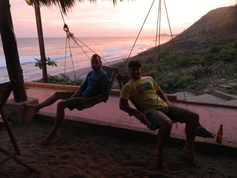 sunset popoyo