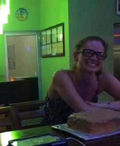 Katelyn celebrating her birthday at R2B.
