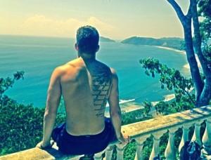 Matty on Miro Mountain