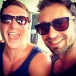 Andreas and Caleb at R2B