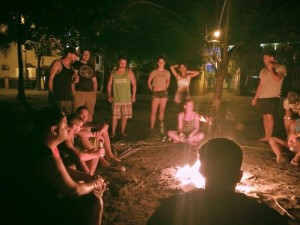 Campfire at Room2Board