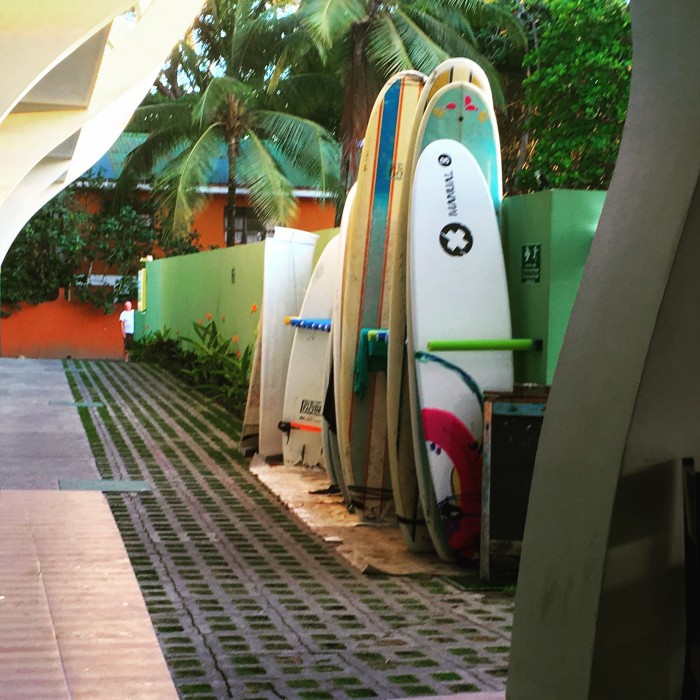 Rent surfboards at Room2Board