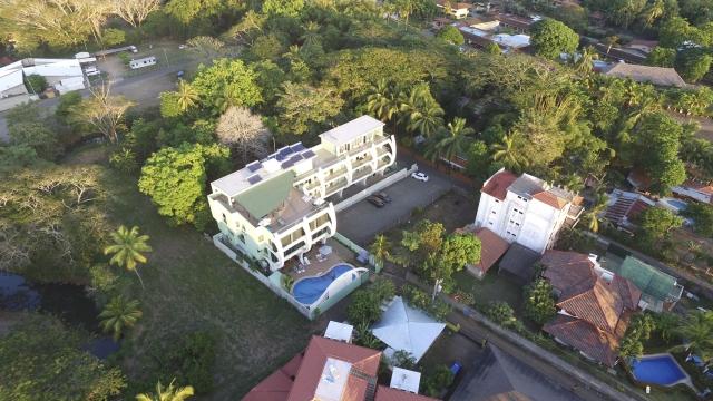 Bird's eye view of Room2Board Hostel & Surf School