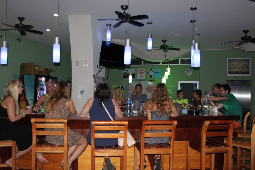 The bar at Room2Board