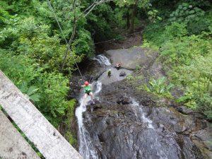 Waterfall Rapelling 4
