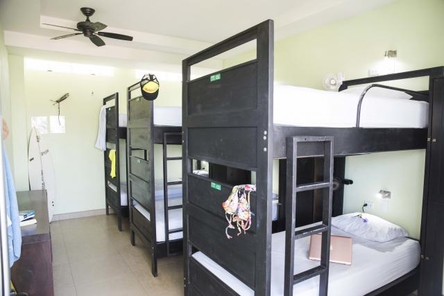 6 Bed Dorm Room
