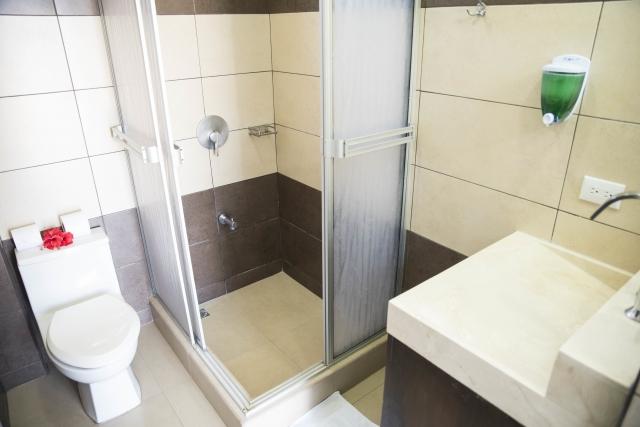 303 private bathroom