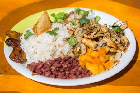 Casado, Typical Costa Rican Meal at Room2Board