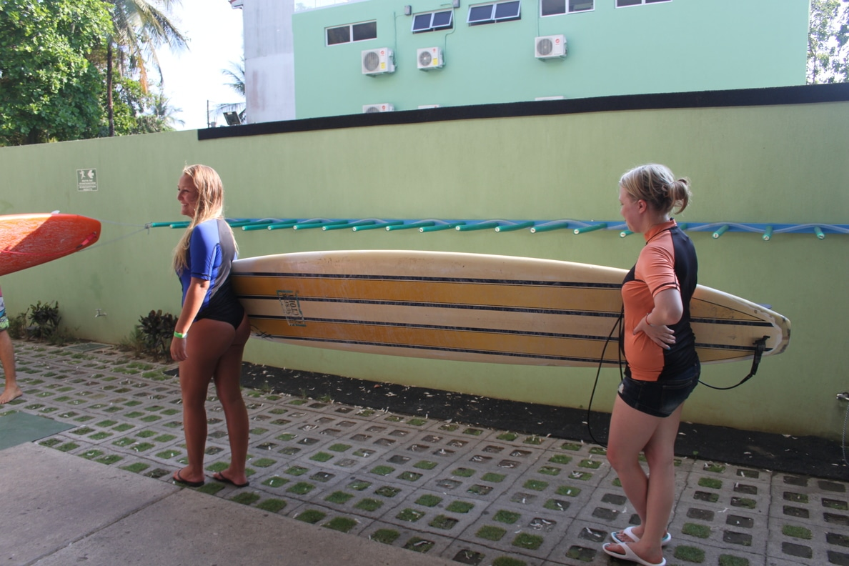 Time for Surf Lessons at Room2Board