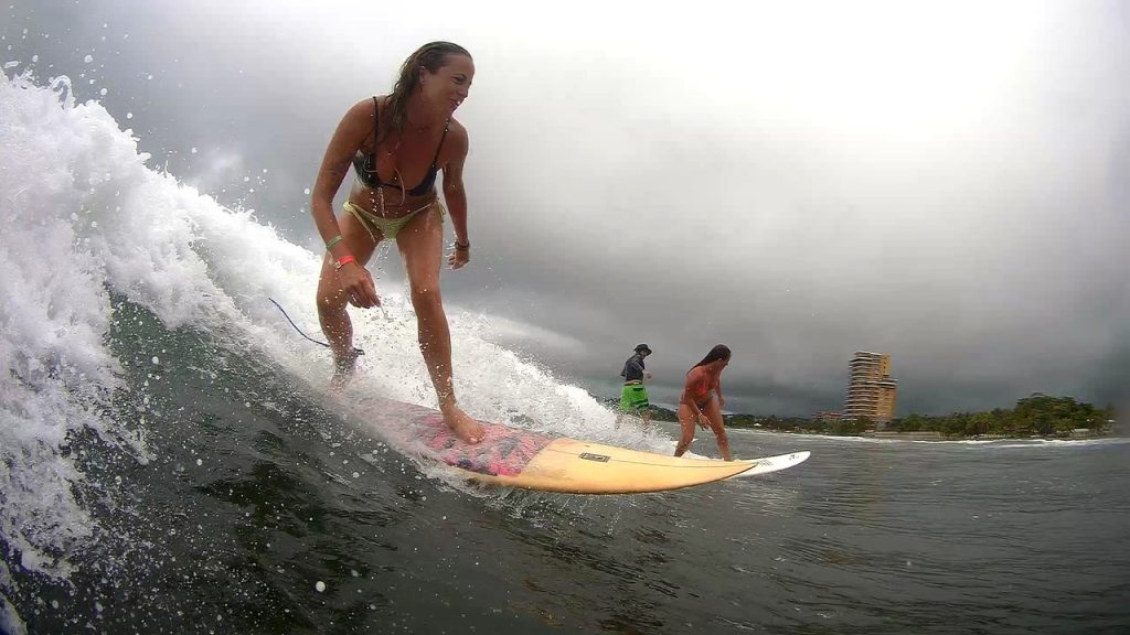 Let surf in front of Room2Board