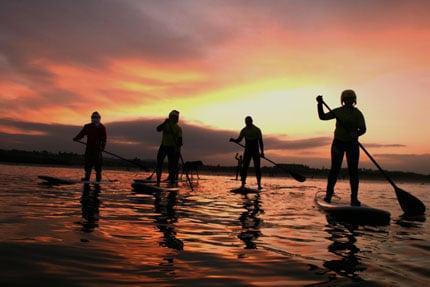 SUP-Sunset
