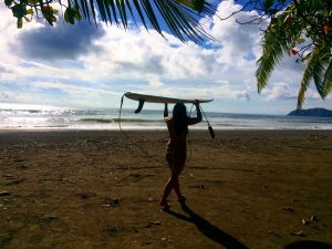 surfing in front of Room2board