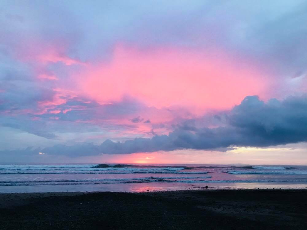 Sunsets in Jaco Costa Rica