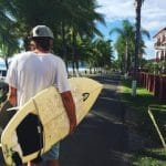 Surfing in Jaco