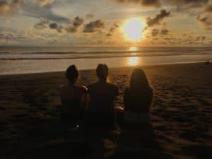 Sunset on Playa Jaco