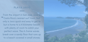 Getting to Jaco